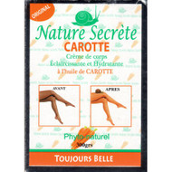 Nature Secrète Carrot Lightening Moisturizing Body Cream 300g