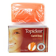 Topiclear Carrot Soap 3 oz
