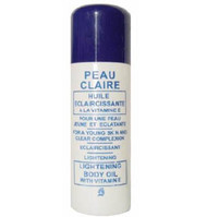 Peau Claire Lightening Body Oil With Vitamin E 60 ml (Small)