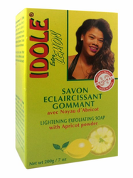 Idole Extra Lemon Lightening Exfoliating Soap 7 oz / 200g