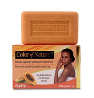 Color of Nature Exfoliating Shea Butter/Charcoal Soap 7 oz/200 g (CLEARANCE) Charcoal Soap