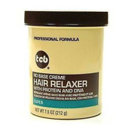 TCB Hair Relaxer No Base Creme Super 7.5 oz