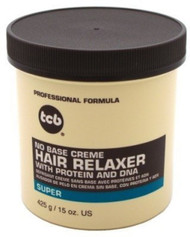 TCB No Base Hair Relaxer Creme Super 15 oz