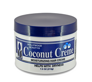 Hollywood Beauty Moisturizing Coconut Hair Creme 7.5 oz
