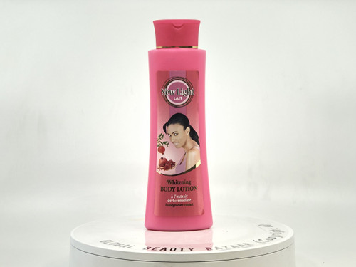 New Light Skin Lightening Lotion with Pomegranate Extract 400 ml