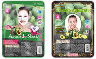 SylphKiss Nourishing Avocado Facial Sheet Mask 0.8 oz