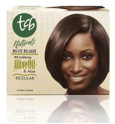 TCB Naturals No-Lye Hair Relaxer Kit Regular w/ Conditioning