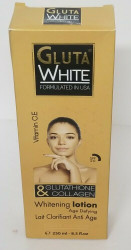 Gluta White Glutathione & Collagen Whitening Lotion 8.5floz
