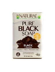 Dr. Natural Black Soap Bars