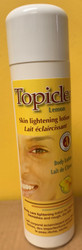 Topiclear Lemon Skin Lightening Body Lotion 16.8 oz