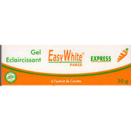 Easy White Express Carrot Lightening Tube Gel 1 oz