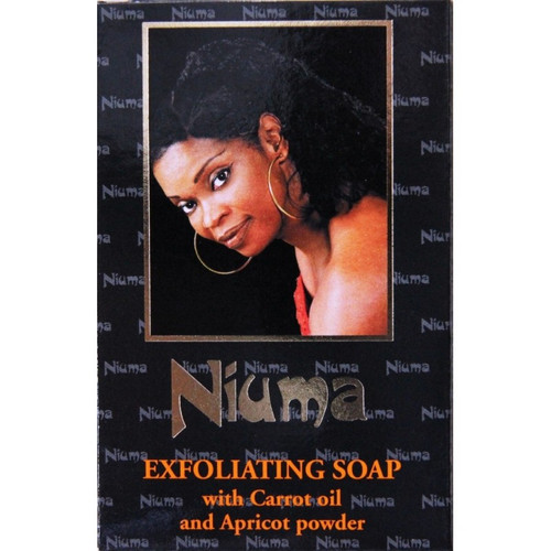 Niuma Exfoliating Soap with carrot oil and Apricot Powder 7 Oz