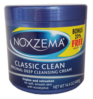Noxzema Classic Clean Cream Original Deep Cleansing 14.4 Oz