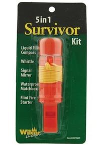 5 in 1 Survivor Hiking Kit