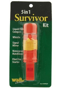 5 in 1 Survivor Hiking Kit