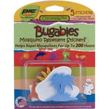 Bugables Insect Mosquito Repellent Stickers