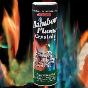 Rainbow Flame Crystals Fire Colorant