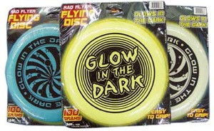 Glow in the Dark Rad Flyer Flying Disc