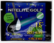 Lightsticks for nitelite glow golf ball