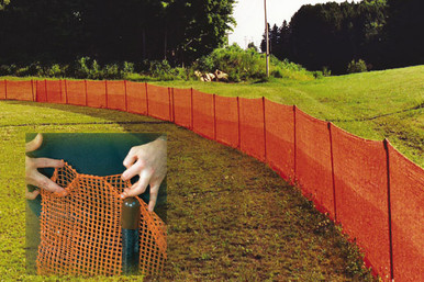 EZ Pocket Net Fence for Wiffle Ball Outfield Fence