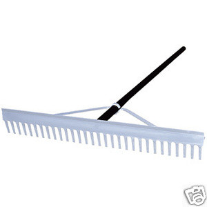 "36"" Baseball Field Landscaping Rake"