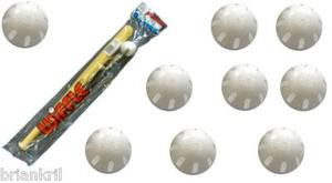 wiffle junior bats and balls