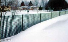 heavy duty snow fence