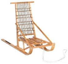Wooden Dog Sled Folding