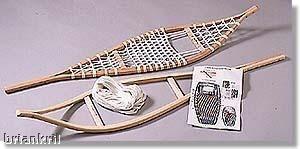 build your own snowshoe kit