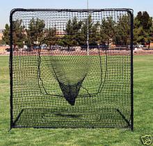 Baseball Sock Net and Frame FallLine 7ft x 7ft