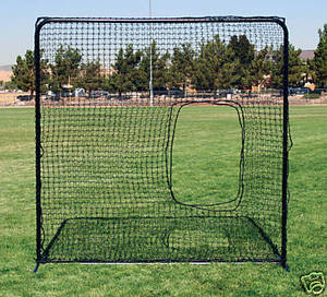 Softball Pitching Screen 7ft x 7ft