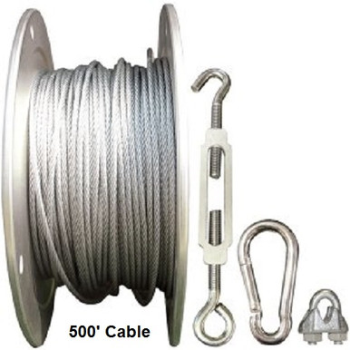 Indoor Batting Cage Cable Kit