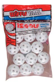 Wiffle golf balls