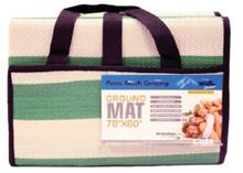 "beach ground mat 78"" x 60"" picnic camping multipurpose"