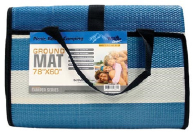 "beach ground mat 78"" x 60"""