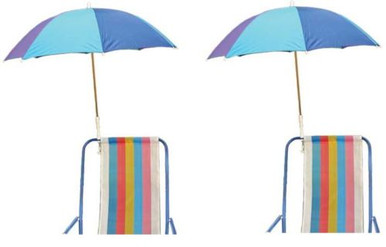 clamp on umbrella for beach chair 2 pack