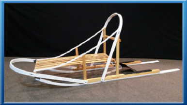 Glider Dog Sled Kit