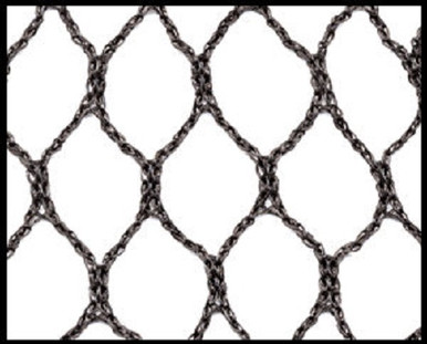 "Poultry Aviary Netting 1"" Heavy Knitted Bird Net"