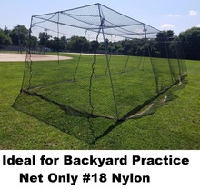 Backyard batting  cage net netting #18 Nylon