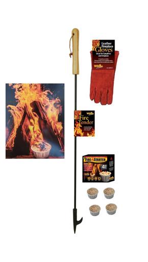 fireplace fire pit poker gift set tool kit