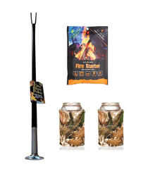 Fireplace poker blow poke bundle