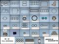 Gasket/Seal Kit, 173 pc Full Overhaul, 90~92 (VITON)
