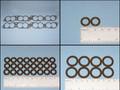 Gasket/Seal Kit, 36 pc Fuel Injector Maint, 90~92 (VITON)