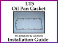 Oil Pan Gasket Installation Guide