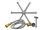 "Burning Spur Kit 16"" Stainless Steel"