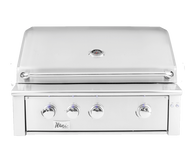 "Alturi 36"" Built-in Grill Stainless Steel Burners Natural Gas"