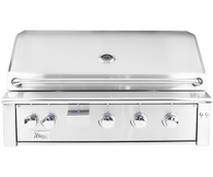 "Alturi 42"" Built-in Grill Red Brass Burners Natural Gas"