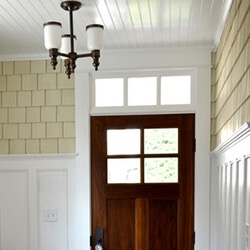 find home design and rennovation ideas with a transom window over an exterior door