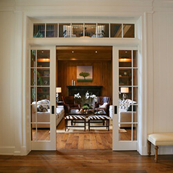 find home design and rennovation ideas for living areas that feature transom windows