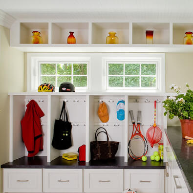 find home design and rennovation ideas for laundry and mudrooms that feature transom windows